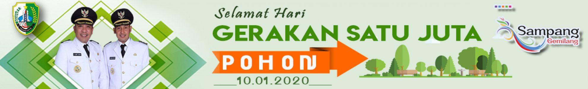 HARI GERAKAN SEJUTA POHON 2020